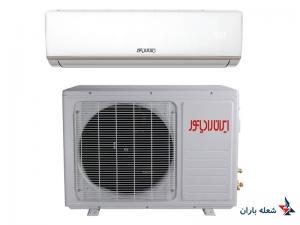 کولر گازی اسپلیت ایران رادیاتور 18000 مدل  IAC-18CH/XA-S/A-OD